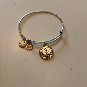 Alex and Ani love birds bracelet